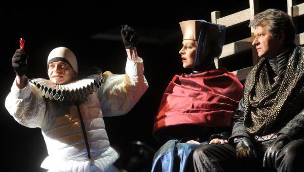 Прогон спектакля Гамлет в театре им. М.Н. Ермоловой