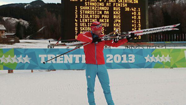 Зимняя Универсиада. Лыжные гонки. Рауль Шакирзянов