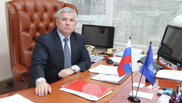 Руководитель ЦИК партии ЕДИНАЯ РОССИЯ Виктор Кидяев, архивное фото