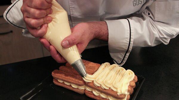 Пошаговый фоторецепт торта Тирамису