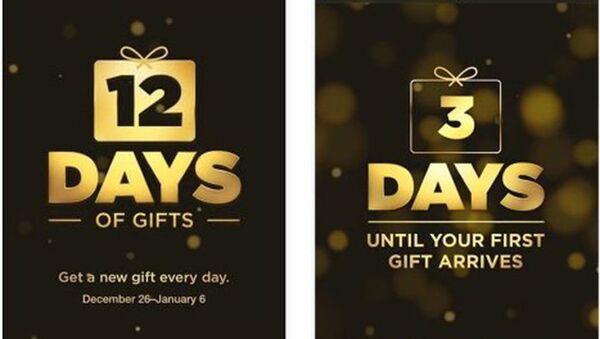 Apple начала дарить музыку и фильмы в приложении 12 Days of Gifts