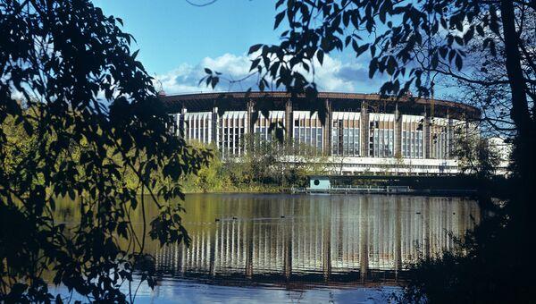 Спортивный комплекс Олимпийский. Архивное фото