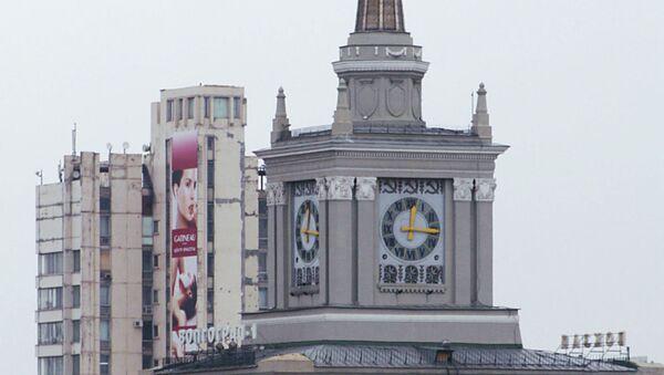 Железнодорожный вокзал Волгоград-1. Архивное фото