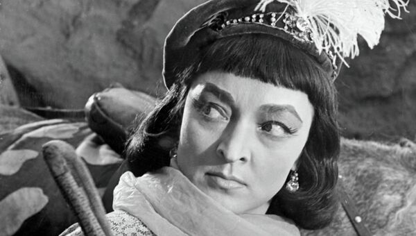 Актриса Лидия Вертинская. Архивное фото
