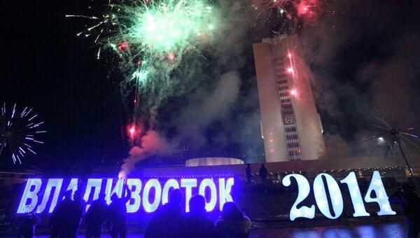 Встреча нового года в регионах России