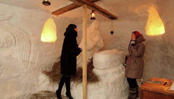 Новосибирск встречает Рождество