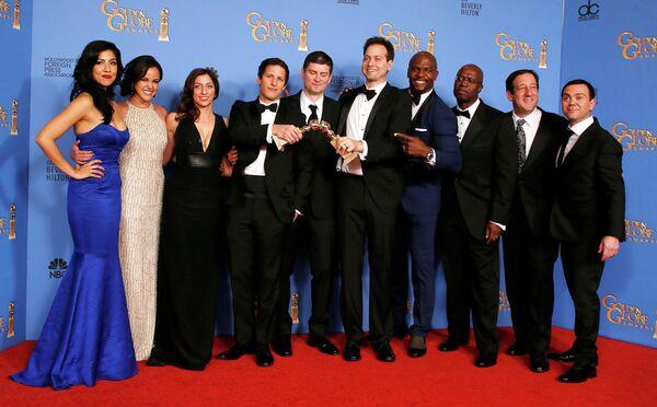 Актерский состав сериала Brooklyn Nine Nine на премии Золотой глобус