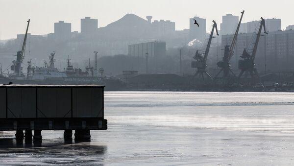 Мороз во Владивостоке