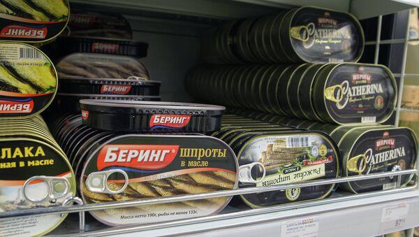 В латвийских шпротах выявлен опасный канцероген