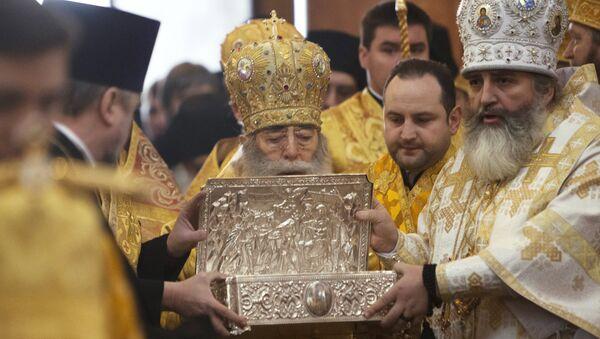 В Санкт-Петербург привезли Дары волхвов