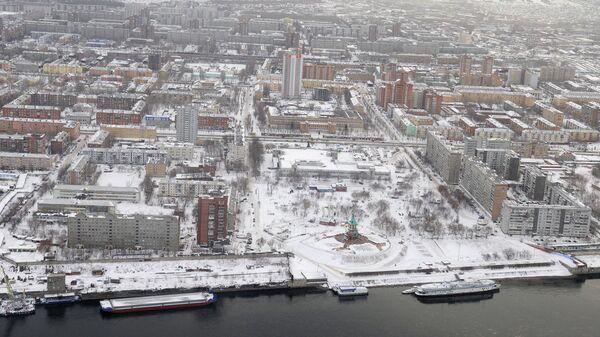 Красноярск, виды города. Архивное фото