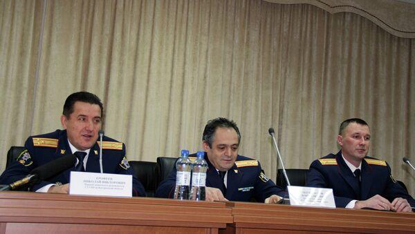 Представители СКР Костромской области на пресс-конференции