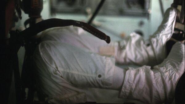 Интерьер космического корабля, программа Аполлон 17