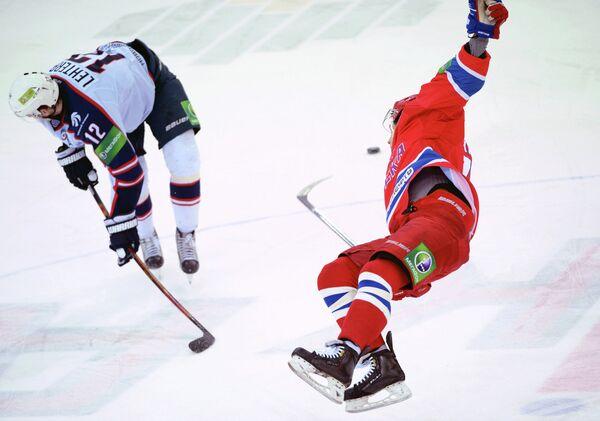 Хоккей. КХЛ. Матч ЦСКА - Сибирь