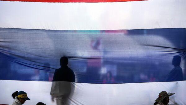 Акция протеста в Бангкоке. Архивное фото