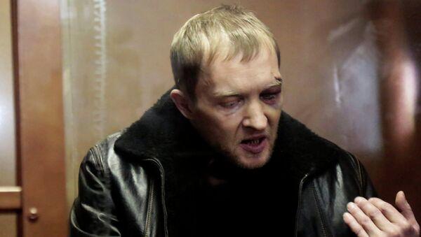 Дмитрий Паршин, подозреваемый в стрельбе в московском метро, в суде. Фото с места события