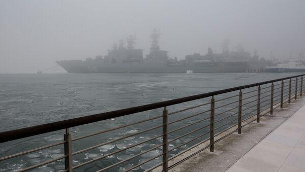 Корабли ТОФ. Архивное фото