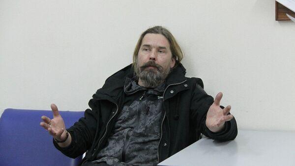 Музыкант Сергей Паук Троицкий. Архивное фото