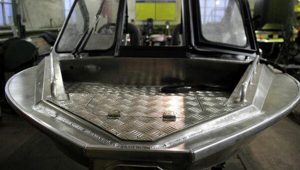 В цехе по производству катеров. Архивное фото