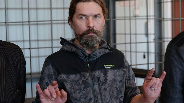 Лидер Коррозии металла Сергей Паук Троицкий. Архивное фото