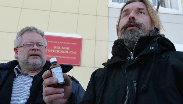 Лидер Коррозии металла Сергей Паук Троицкий задержан в Новосибирске, архивное фото