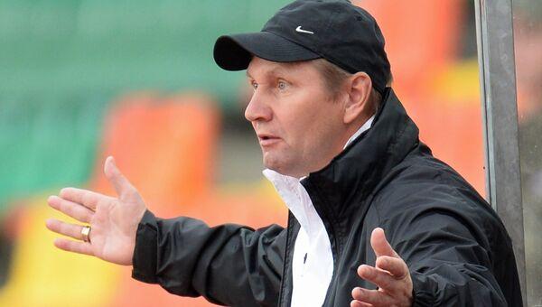 Василий Баскаков, главный тренер ФК Томь
