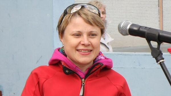 Олимпийская чемпионка по биатлону Анна Богалий