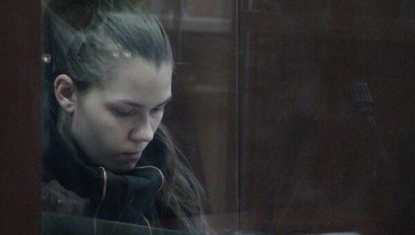 Алена Ипатова, обвиняемая в убийстве дочери