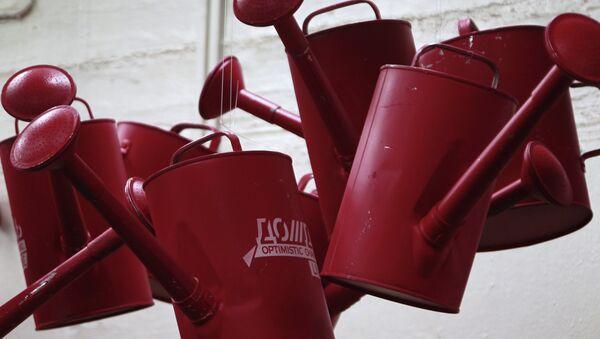 Интерьер студии телеканала Дождь на Красном Октябре. Архивное фото