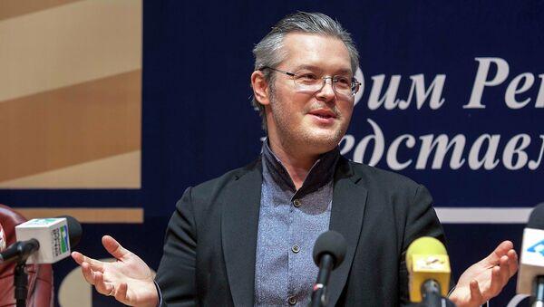 Вадим Репин рассказывает о Транссибирском арт-фестивале. Архивное фото