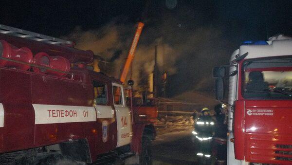Последствия взрыва баллона с пропаном и пожара в Мелехово Владимирской области. Фото с места событий