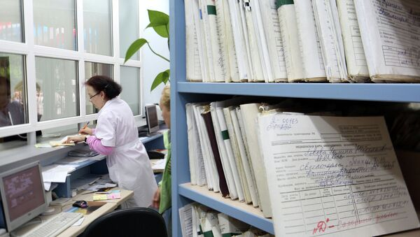 Поликлиника. Архивное фото