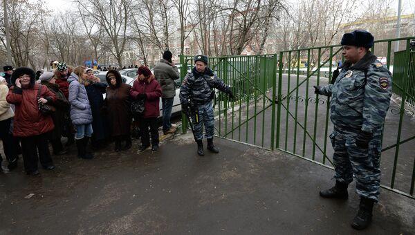 Мужчина открыл стрельбу в московской школе