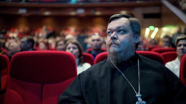 Глава Синодального отдела по взаимоотношениям Церкви и общества протоиерей Всеволод Чаплин