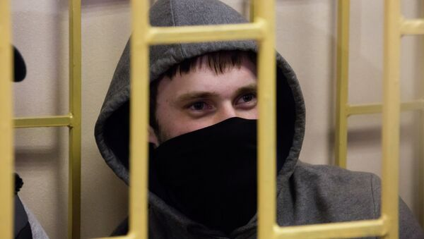 Подсудимый по делу приморских партизан Александр Ковтун. Архивное фото