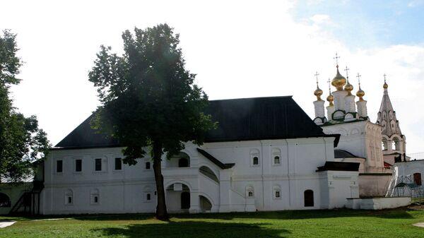 Консисторский корпус на территории Рязанского кремля