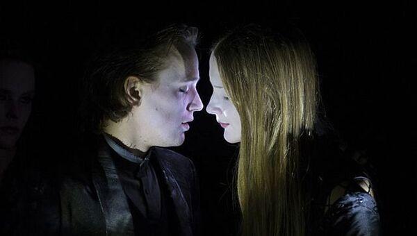Сцена из спектакля Пелеас и Мелисанда