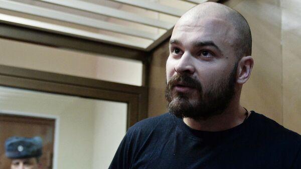 Максим Марцинкевич в Кунцевском суде. Архивное фото