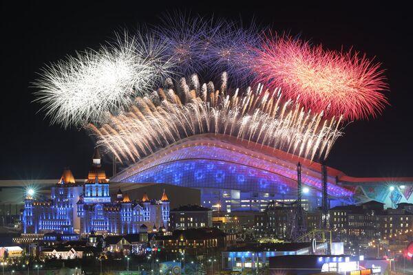 Открытие прошло на стадионе Фишт, названном в честь одной из гор Кавказа, что в переводе с адыгейского означает Белая голова.