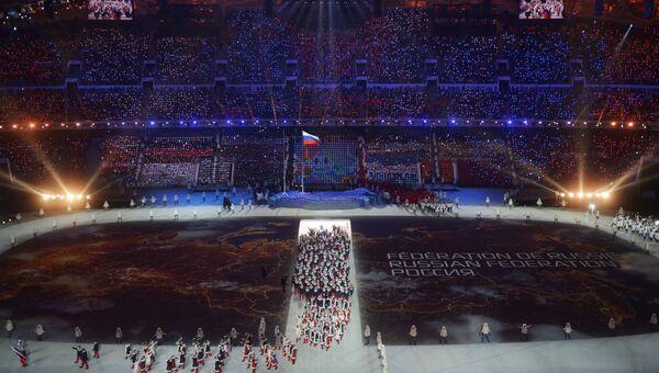 Церемония открытия XXII зимних Олимпийских игр в Сочи. Фото с места события