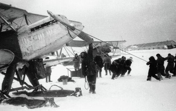 Экспедиция по спасению экипажа парохода Челюскин