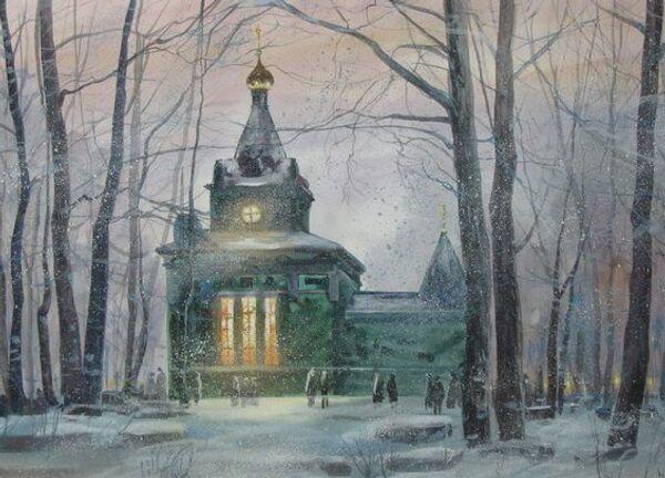 Выставка Русские святые. Ксения Петербургская