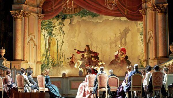 Венская опера. Архивное фото