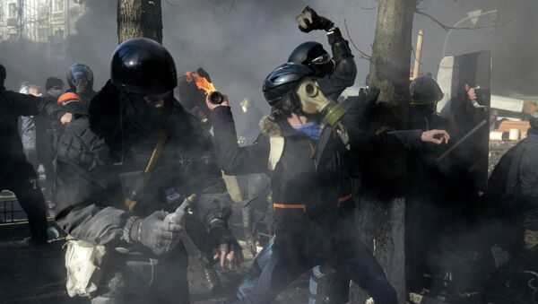 Беспорядки в Киеве, архивное фото