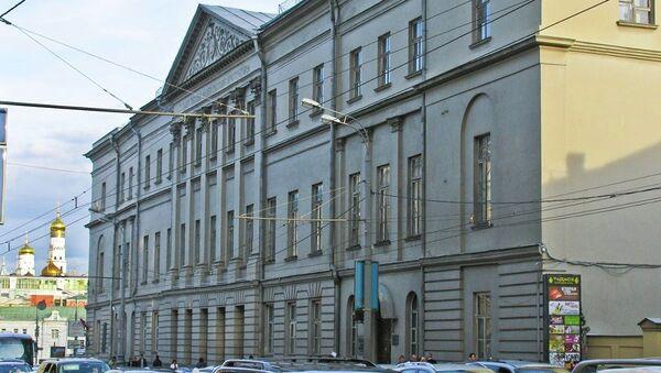 Государственный музей архитектуры им. А.В. Щусева Архивное фото