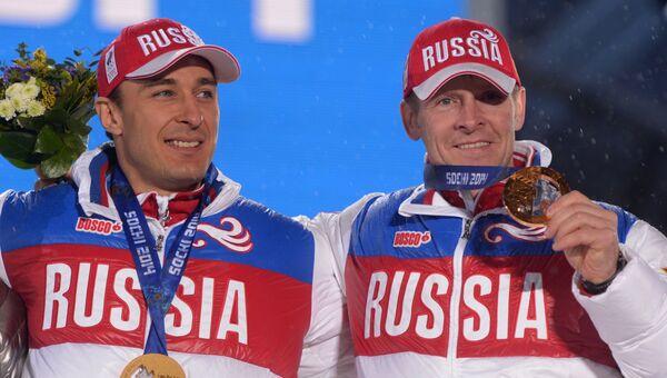 Алексей Воевода и Александр Зубков. Архивное фото