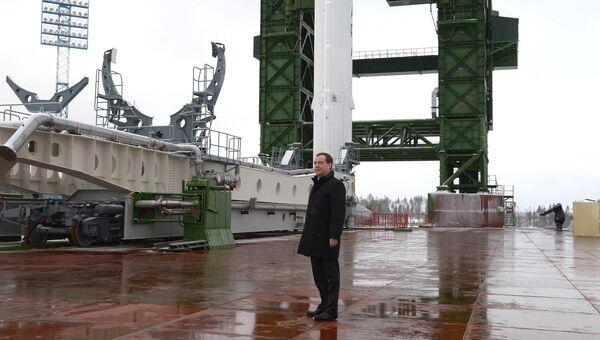 Рабочая поездка Д.Медведева в город Мирный. Фото с места события
