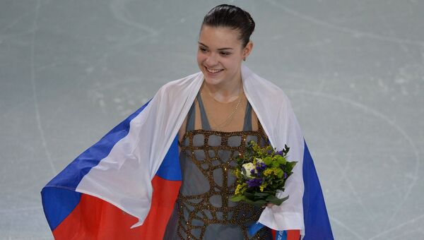 Аделина Сотникова (Россия). Архивное фото