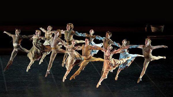 Балет Ромео и Джульетта Михайловского театра. Архивное фото