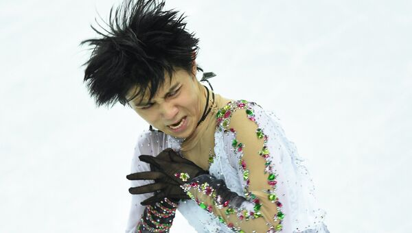 Юдзуру Ханю. Архивное фото